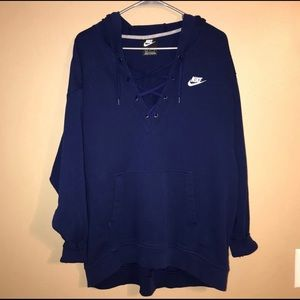 Nike Lace front hoodie